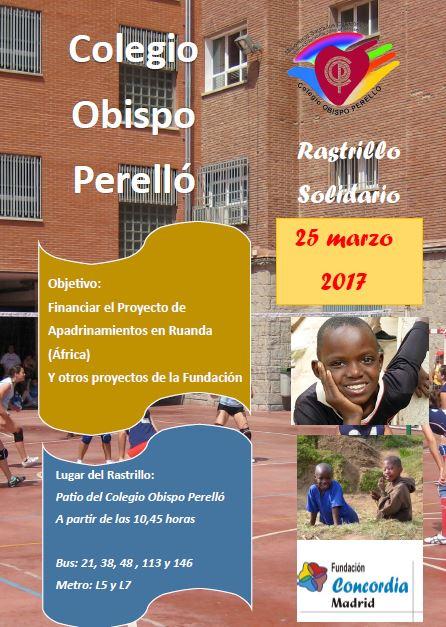 RASTRILLO SOLIDARIO EN EL COLEGIO OBISPO PERELLÓ